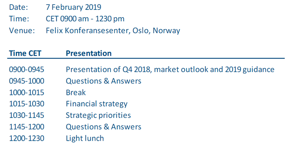 CMD 2019 agenda
