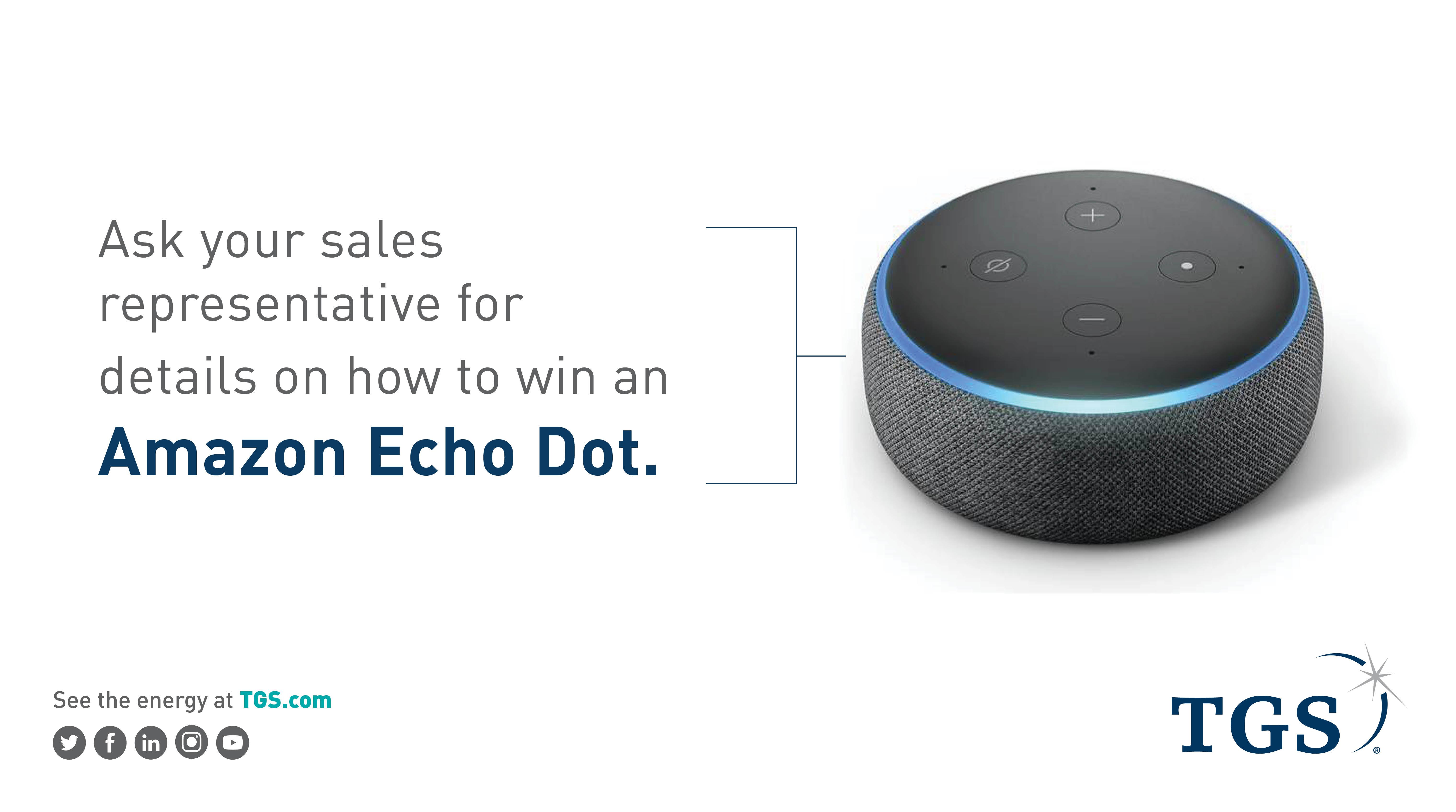 Echo Dot-giveaway