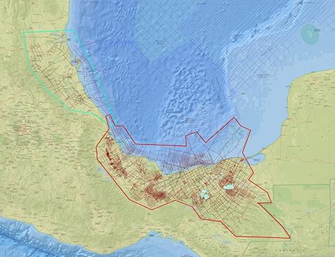 Mexico onshore interp TM