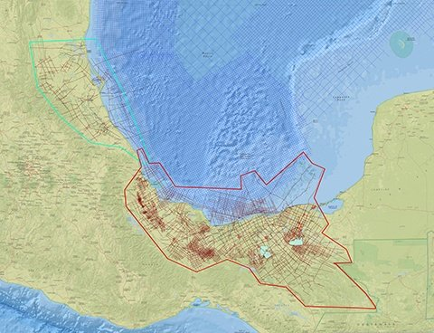 Mexico onshore interp TM