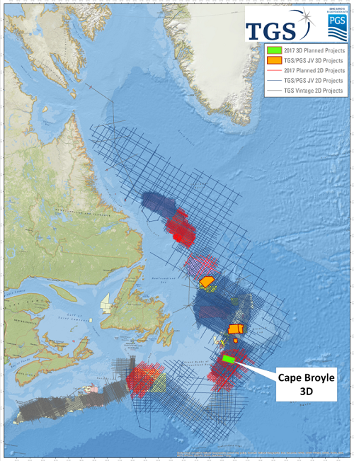 Cape Broyle 3D