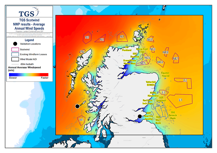 TGS Scotwind Model Offshore