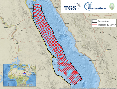 Red Sea Proposed 2D Survey Area2